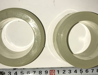 Втулка реактивной штанги ЛиАЗ 5256 (пенополиуретан) светлая
