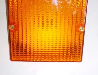 Указатель поворота задний ЛиАЗ-5256 желтый