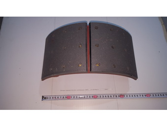 Колодка тормозная ПАЗ-3204  с роликом (накл. ТИИР)