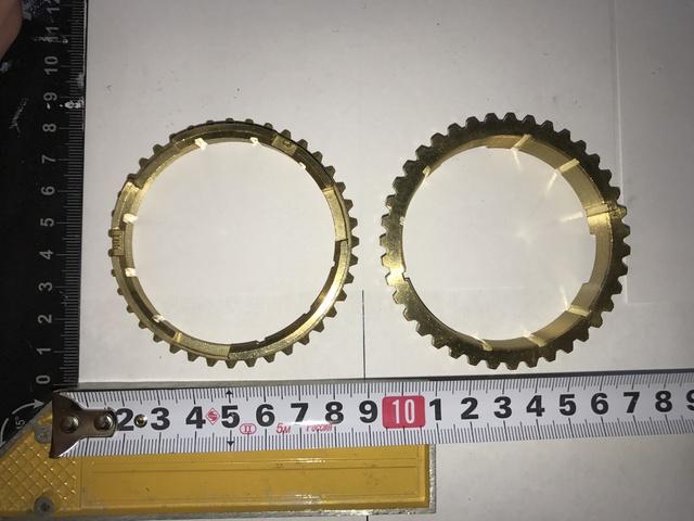 Кольцо УАЗ синхронизатора блокирующее 4-х синхронной КПП Ульяновск
