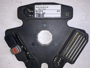 Блок управления отопителем Термо-350 (KS 80)/A  ЛИАЗ-6212,ИК-435 SG 1572D