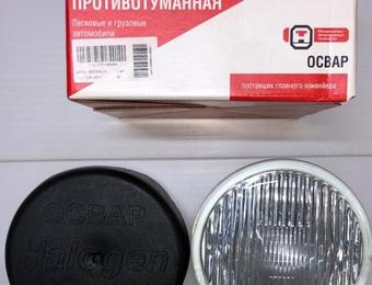 Фара противотуманная круглая (белая) ЛИАЗ-5256  2101.3743-04