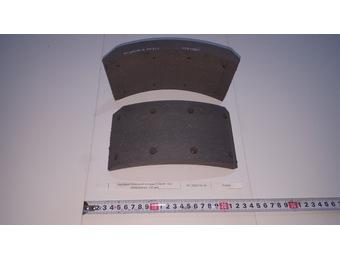 Накладка тормозной колодки FOMAR  ПАЗ  (сверленная, 100 мм)