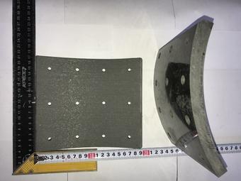 Накладка тормозной колодки ТИИР (сверл., 160мм) ПАЗ