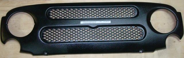 Облицовка радиатора УАЗ-315195 накладка (пластик)