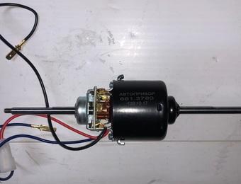 Мотор отопителя 681.3780010 (под гайку)