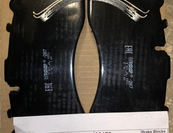 Колодки тормозные  ТИИР-287 WVA 29179 (ТР.А-115)
