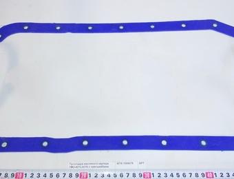 Прокл.масл.картера УМЗ-4213,4216 с пресшайбами силикон синяя