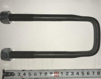 Стремянка УАЗ-469 рессоры задней L=170мм с гайкой