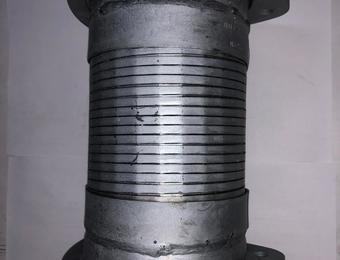 Металлорукав ЛИАЗ-5256,6212 (дв.ЯМЗ) L=210мм, D=105мм