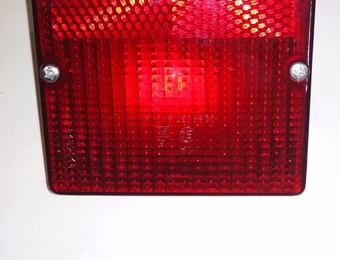 Фонарь габаритный задний ЛиАЗ-5256 красный